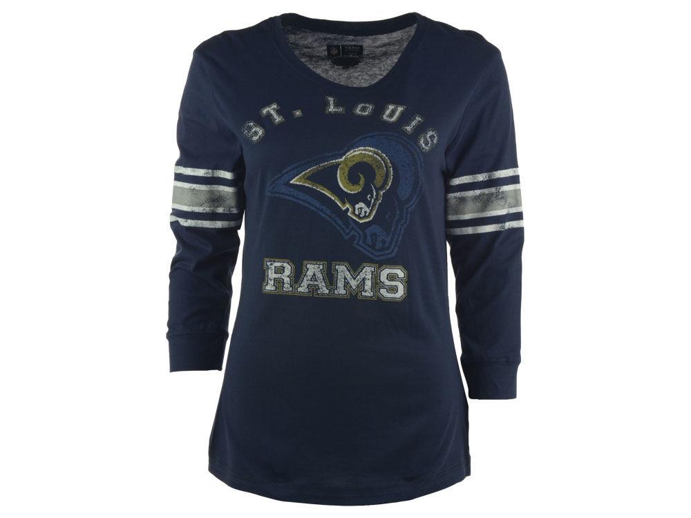 St. Louis Rams NFL Women s Victory Is Sweet T-Shirt  05be513a79b7
