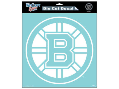 "Boston Bruins Die Cut Decal 8""x8"""