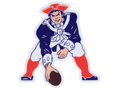 New England Patriots Die Cut Color Decal 8in X 8in