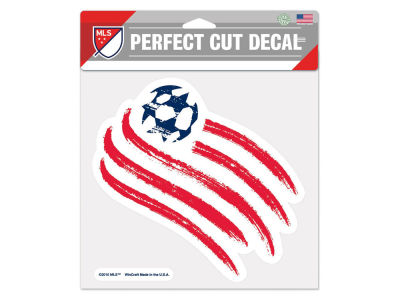New England Revolution Die Cut Color Decal 8in X 8in