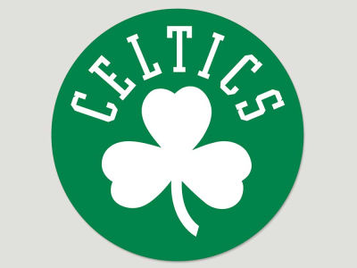 Boston Celtics Die Cut Color Decal 8in X 8in