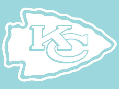 "Kansas City Chiefs Die Cut Decal 8""x8"""