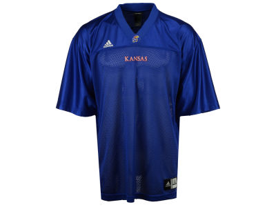 Kansas Jayhawks NCAA Youth Blank Football Replica Jersey adidas