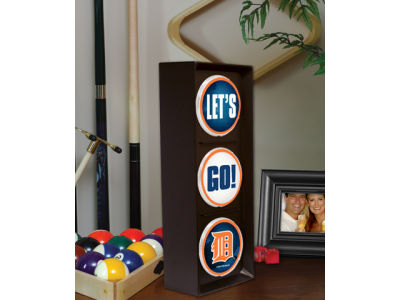 Detroit Tigers Flashing Lets Go Light