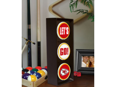 Kansas City Chiefs Flashing Lets Go Light
