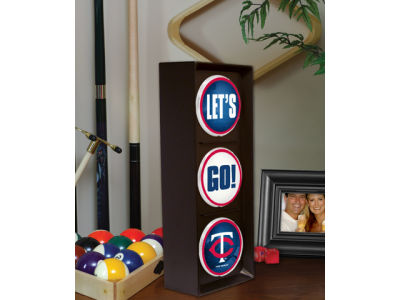 Minnesota Twins Flashing Lets Go Light
