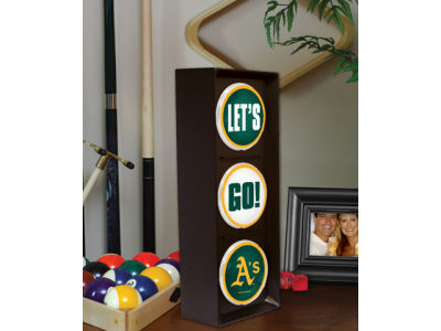 Oakland Athletics Flashing Lets Go Light