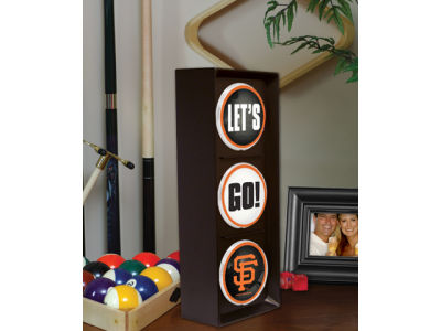 San Francisco Giants Flashing Lets Go Light