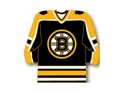 Boston Bruins Aminco Jersey Pin