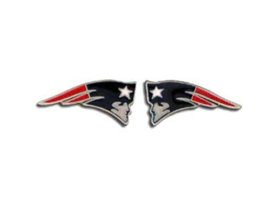 New England Patriots Logo Post Earrings