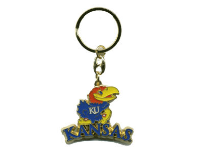 Kansas Jayhawks Heavyweight Keychain