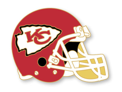 Kansas City Chiefs Helmet Pin