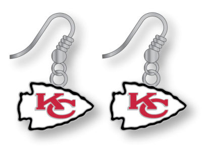 Kansas City Chiefs Logo Earrings