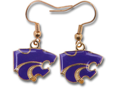Kansas State Wildcats Logo Earrings