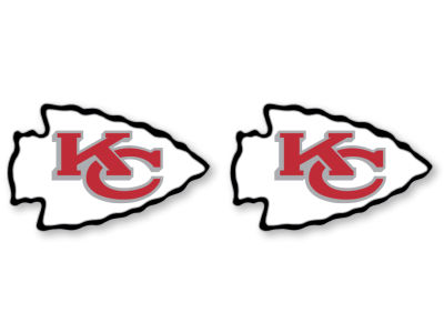 Kansas City Chiefs Logo Post Earrings