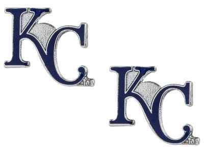Kansas City Royals Logo Post Earrings