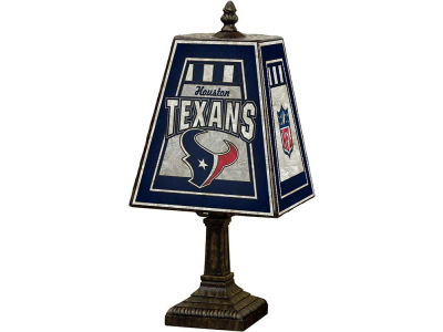 Houston Texans Art Glass Table Lamp