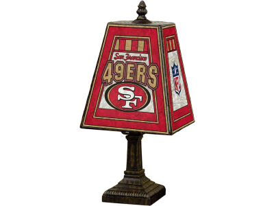 San Francisco 49ers Art Glass Table Lamp