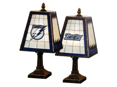 Tampa Bay Lightning Art Glass Table Lamp