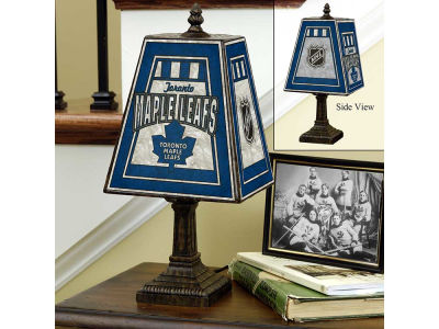 Toronto Maple Leafs Art Glass Table Lamp
