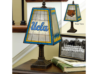 UCLA Bruins Art Glass Table Lamp