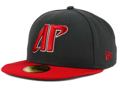 Austin Peay Governors New Era NCAA 2 Tone Graphite and Team Color 59FIFTY Cap