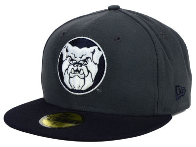 Butler Bulldogs New Era NCAA 2 Tone Graphite and Team Color 59FIFTY Cap
