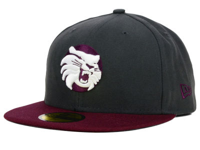 California State Chico Wildcats New Era NCAA 2 Tone Graphite and Team Color 59FIFTY Cap