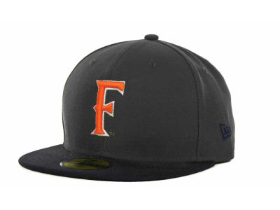 Cal State Fullerton Titans New Era NCAA 2 Tone Graphite and Team Color 59FIFTY Cap