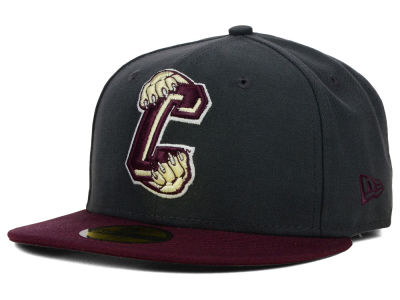 Charleston Cougars New Era NCAA 2 Tone Graphite and Team Color 59FIFTY Cap