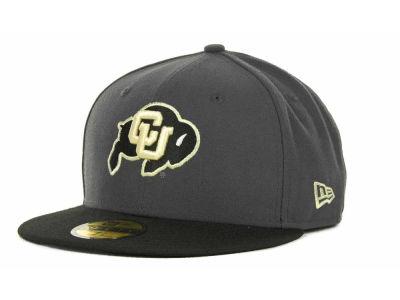 big sale ad042 d4fb8 Colorado Buffaloes New Era NCAA 2 Tone Graphite and Team Color 59FIFTY Cap    lids.com