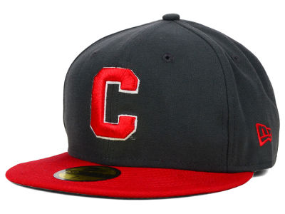 Cornell University Big Red New Era NCAA 2 Tone Graphite and Team Color 59FIFTY Cap