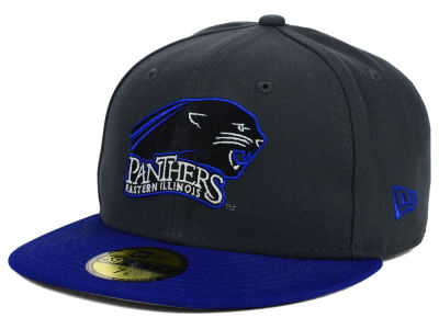 Eastern Illinois Panthers New Era NCAA 2 Tone Graphite and Team Color 59FIFTY Cap