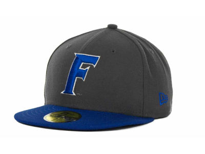 Florida Gators New Era NCAA 2 Tone Graphite and Team Color 59FIFTY Cap