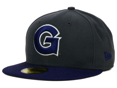 Georgetown Hoyas New Era NCAA 2 Tone Graphite and Team Color 59FIFTY Cap