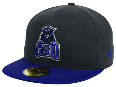 Georgia State Panthers New Era NCAA 2 Tone Graphite and Team Color 59FIFTY Cap