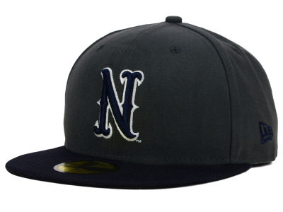 Nevada Wolf Pack New Era NCAA 2 Tone Graphite and Team Color 59FIFTY Cap