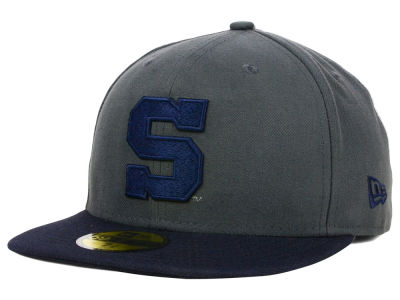 Penn State Nittany Lions New Era NCAA 2 Tone Graphite and Team Color 59FIFTY Cap