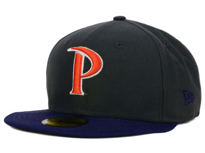 Pepperdine Waves New Era NCAA 2 Tone Graphite and Team Color 59FIFTY Cap