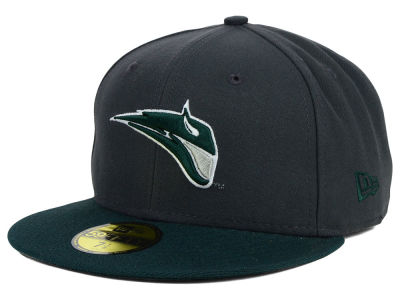 Portland State Vikings New Era NCAA 2 Tone Graphite and Team Color 59FIFTY Cap