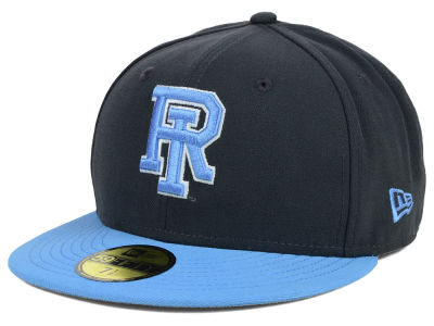 Rhode Island Rams New Era NCAA 2 Tone Graphite and Team Color 59FIFTY Cap