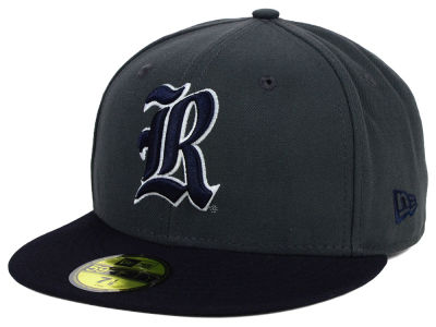 Rice Owls New Era NCAA 2 Tone Graphite and Team Color 59FIFTY Cap
