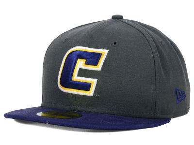Tennessee Chattanooga Mocs New Era NCAA 2 Tone Graphite and Team Color 59FIFTY Cap
