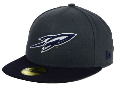 Toledo Rockets New Era NCAA 2 Tone Graphite and Team Color 59FIFTY Cap