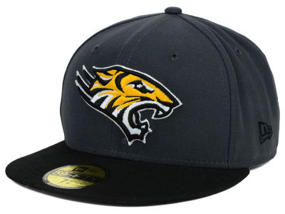 Towson University Tigers New Era NCAA 2 Tone Graphite and Team Color 59FIFTY Cap