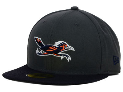 University of Texas San Antonio Roadrunners New Era NCAA 2 Tone Graphite and Team Color 59FIFTY Cap
