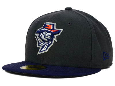 UTEP Miners New Era NCAA 2 Tone Graphite and Team Color 59FIFTY Cap