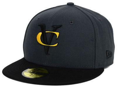VCU Rams New Era NCAA 2 Tone Graphite and Team Color 59FIFTY Cap