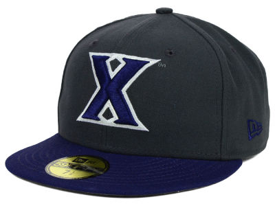 Xavier Musketeers New Era NCAA 2 Tone Graphite and Team Color 59FIFTY Cap