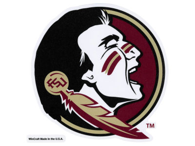 Florida State Seminoles Die Cut Color Decal 8in X 8in